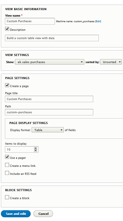 add view form